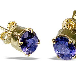 post iolite earrings 2