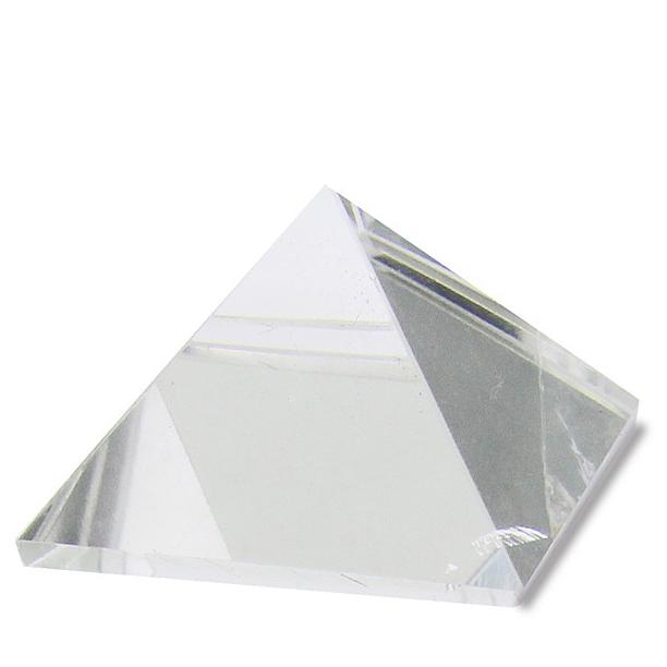 Crystal Quartz Healing Stone Pyramid