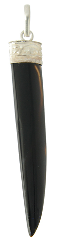 Onyx Bear Claw Pendant