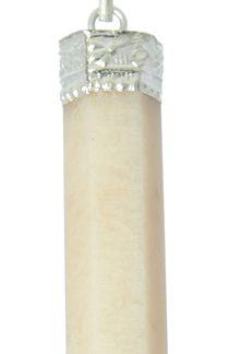 peach moonstone pencil pendant