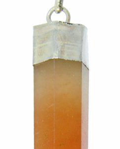 Carnelian Pencil Pendant