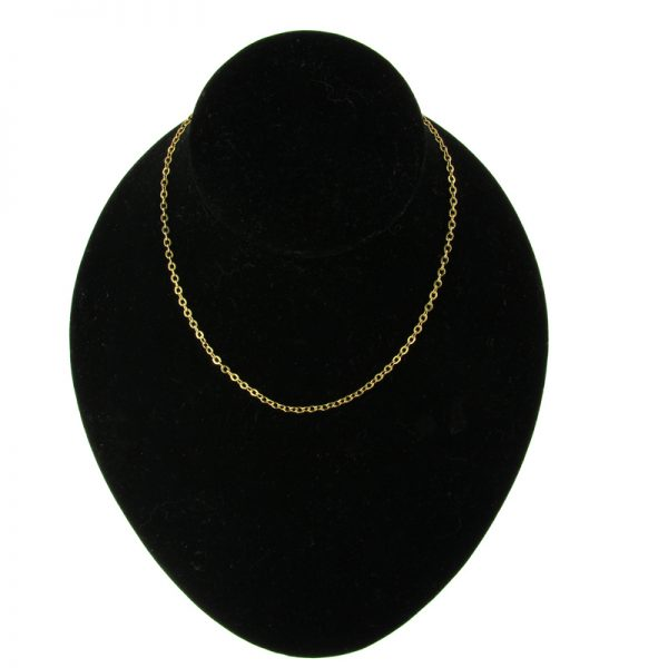 Gold-Plated Delicate Belcher Chain Necklace (3 Lengths)