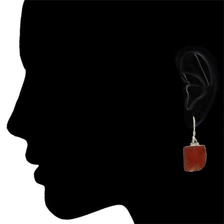 Red Jasper Earrings 2