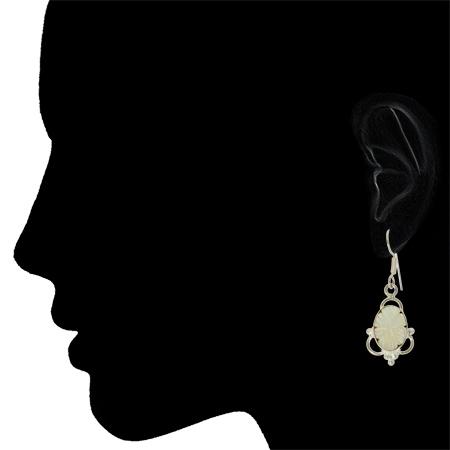Flower Shell Earrings 2