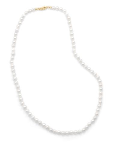 18″ 5-5.5mm Cultured Freshwater Pearl Necklace