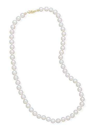 30″ 5.5-6mm Cultured Freshwater Pearl Necklace