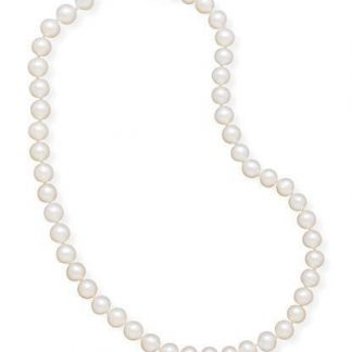 """16"""" 7.5-8mm Cultured Freshwater Pearl Necklace"""