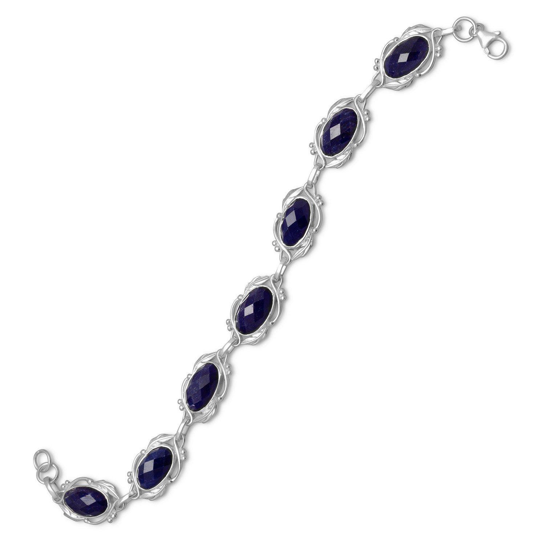 8″ Oval Corundum Bracelet
