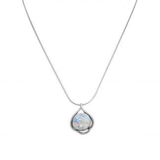 "18"" Ancient Roman Glass Necklace"