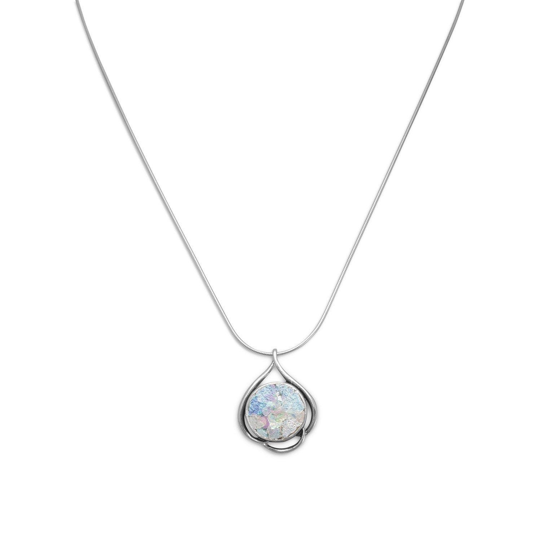18″ Ancient Roman Glass Necklace