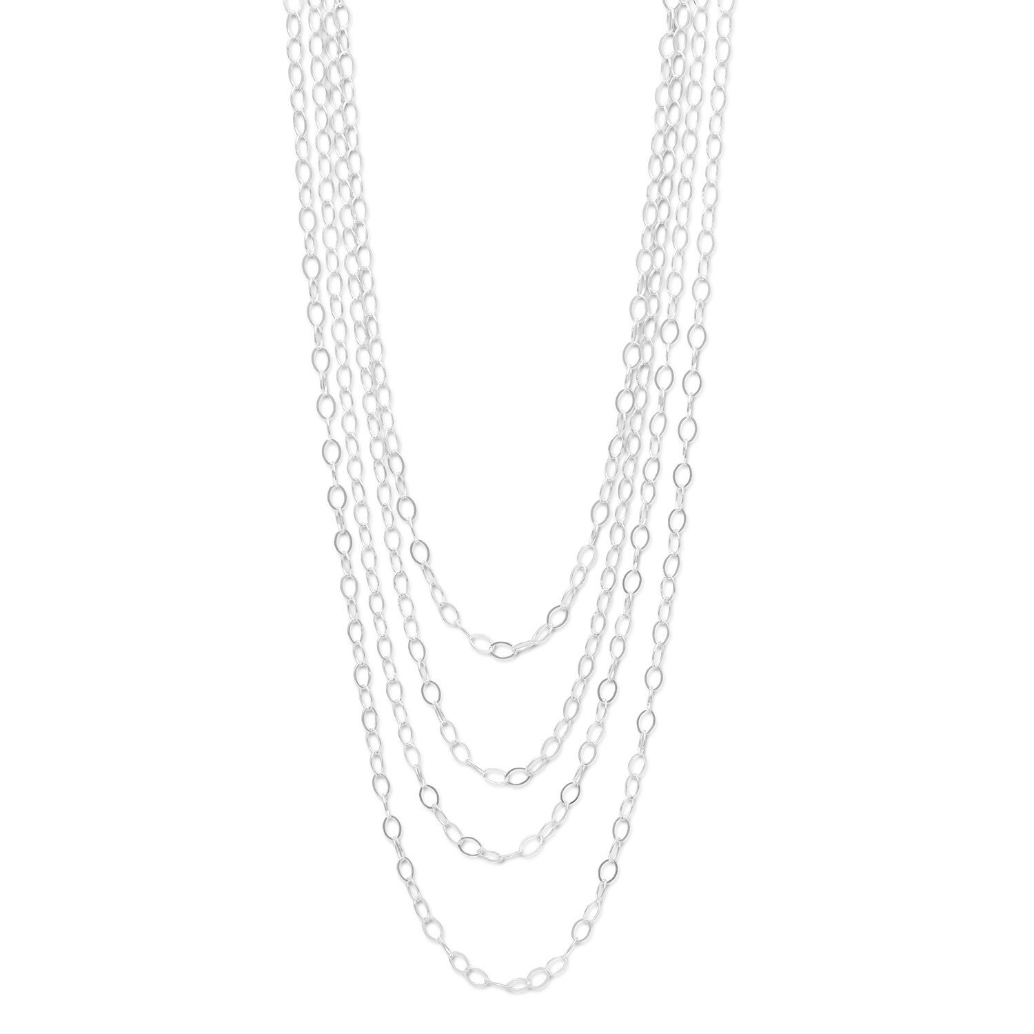 100″ Open Link Cable Necklace
