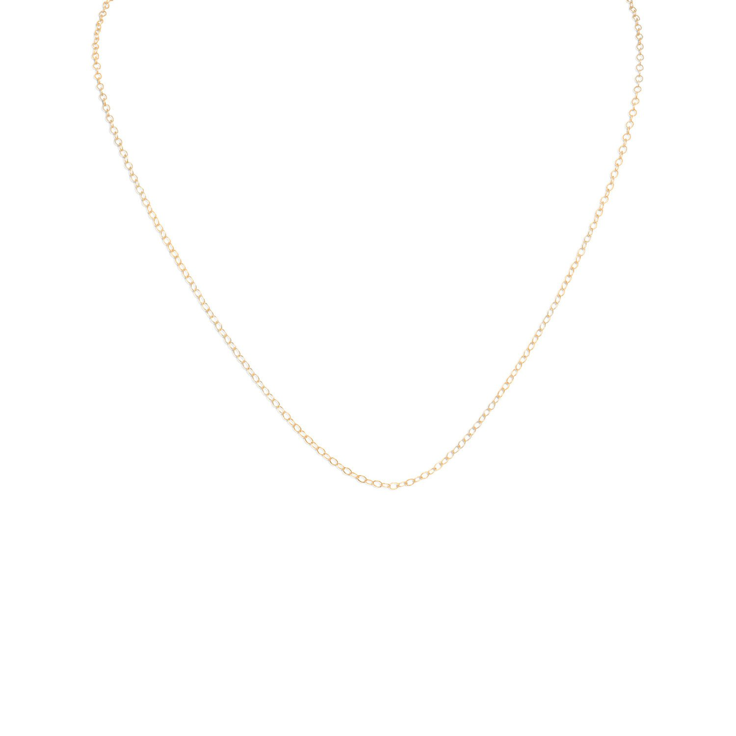 13″+1″ 14/20 Gold Filled Cable Chain