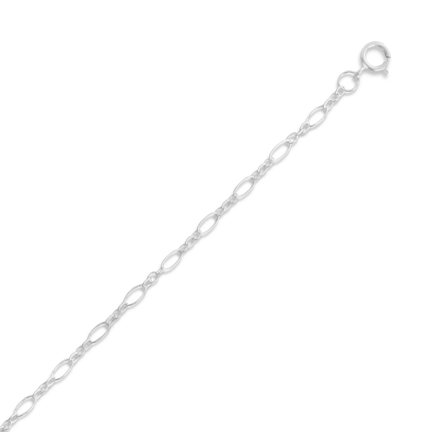 Large and Small Alternating Link Chain