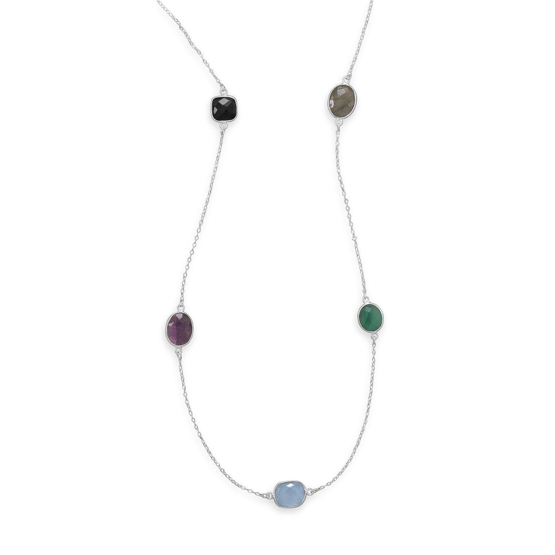 22.5″ Multistone Necklace