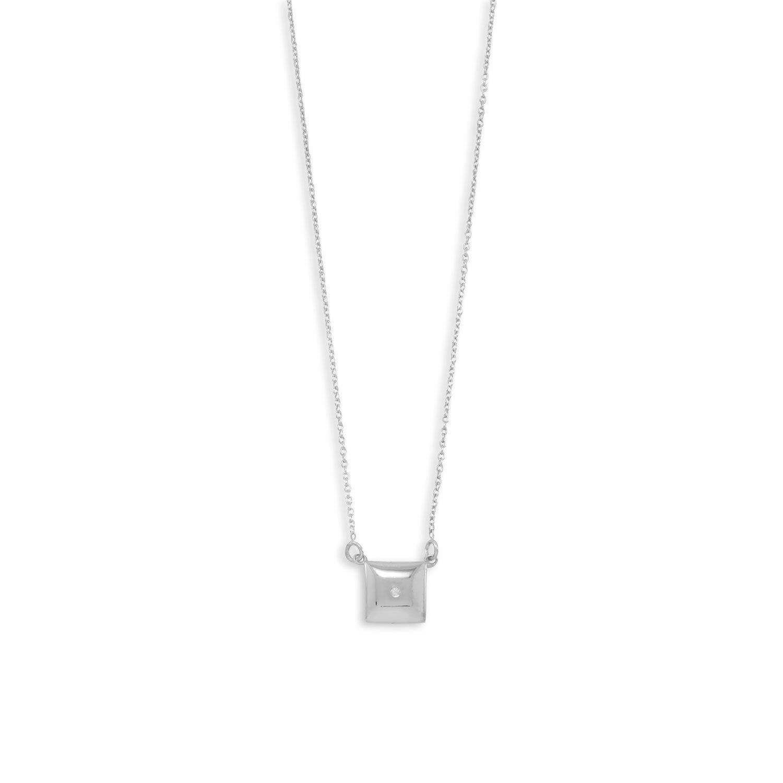 April Diamond Necklace