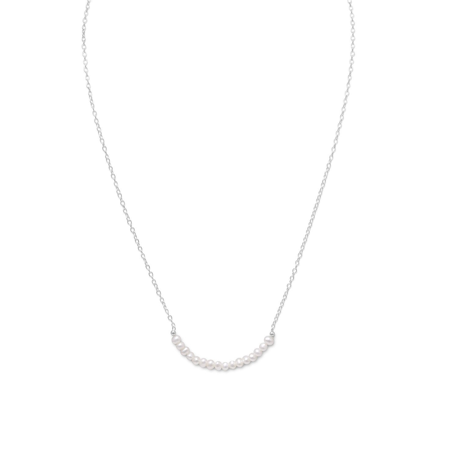 Cultured Freshwater Pearl Necklace – June Birthstone