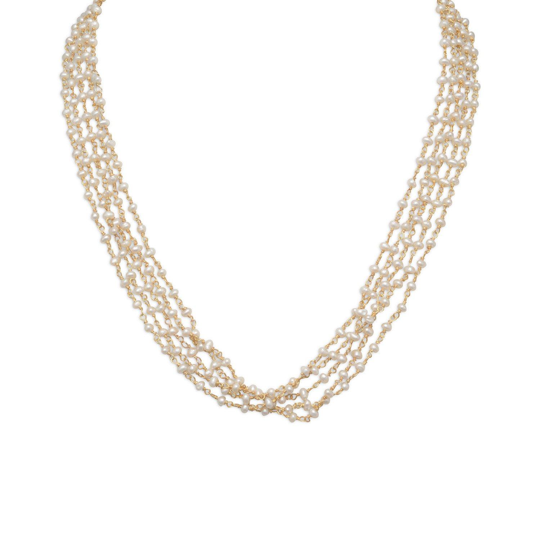 Baila Luna Pearls of Wisdom Necklace