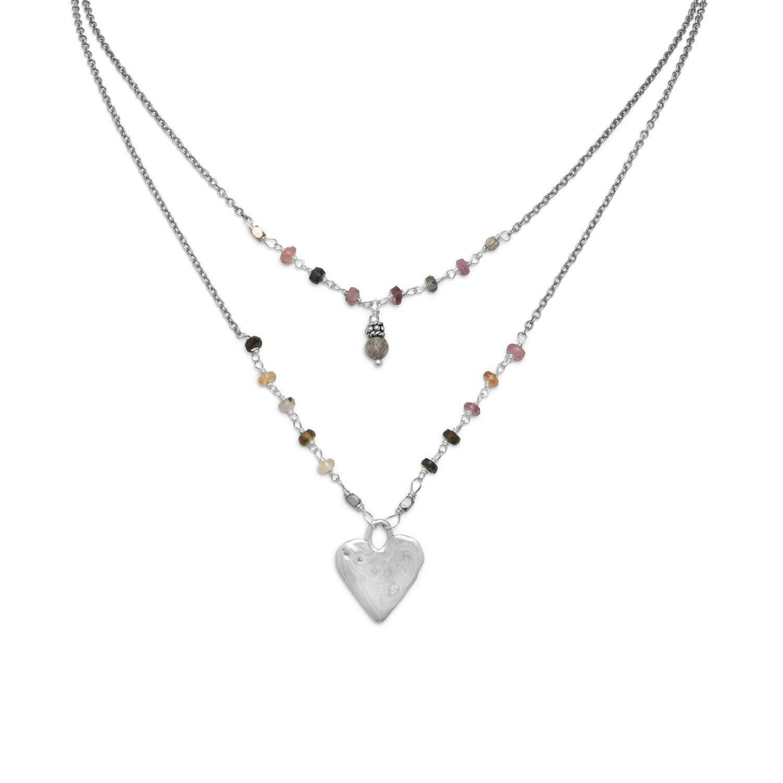 Baila Luna Joyful Heart Necklace