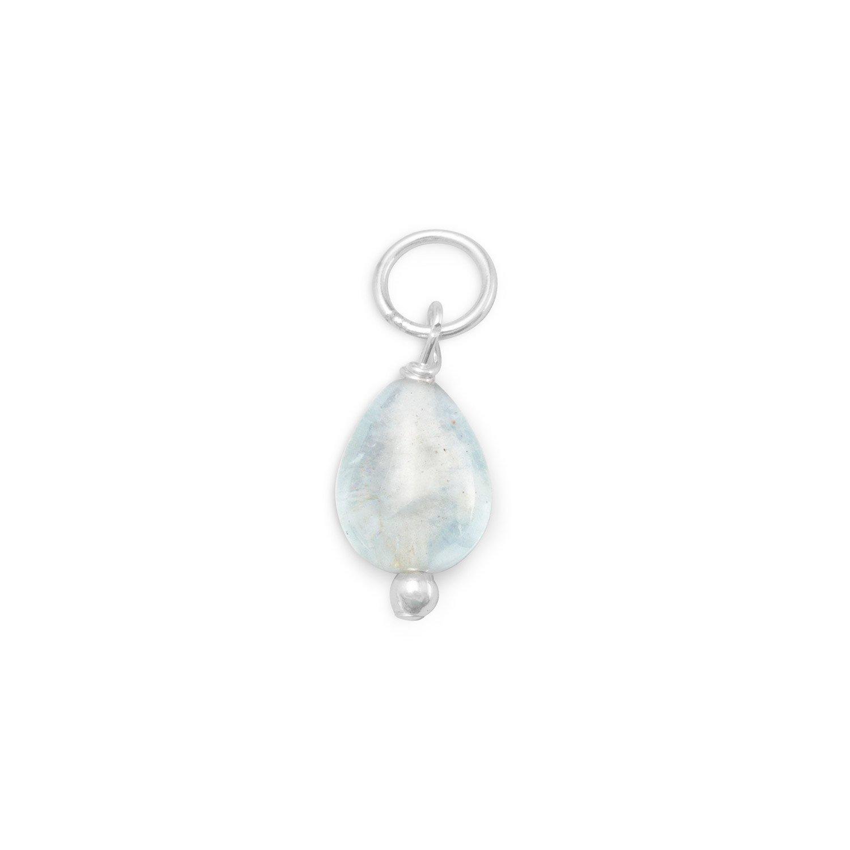Aquamarine Charm – March Birthstone