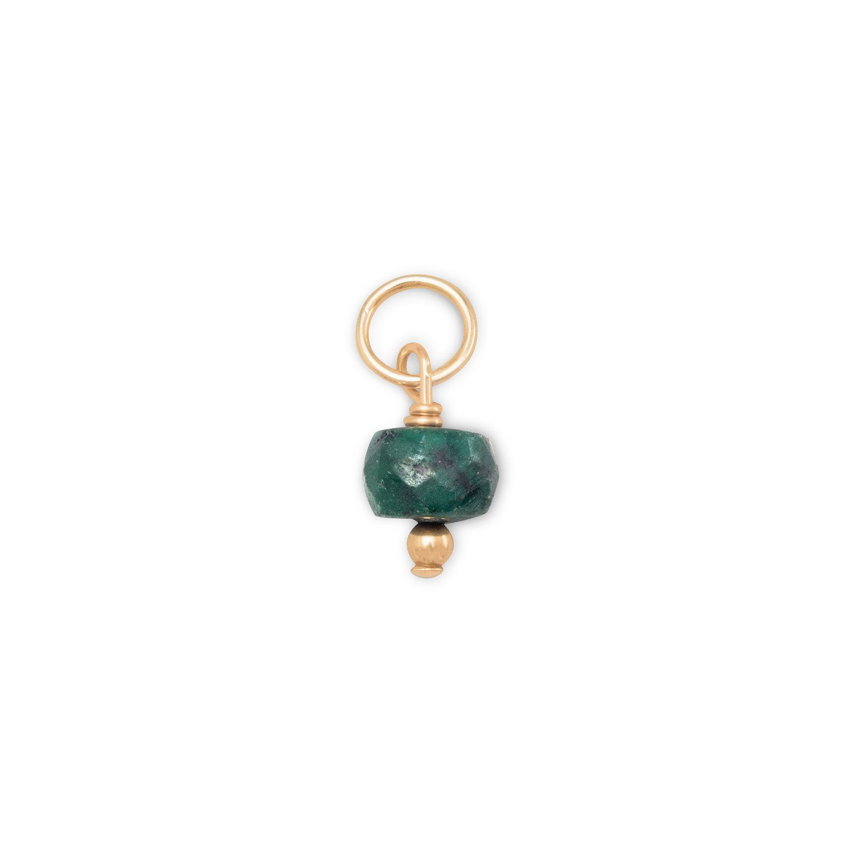 14/20 Gold Filled Corundum Charm – May Birthstone