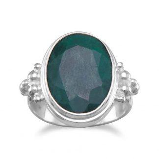 Large Oval Beryl Ring