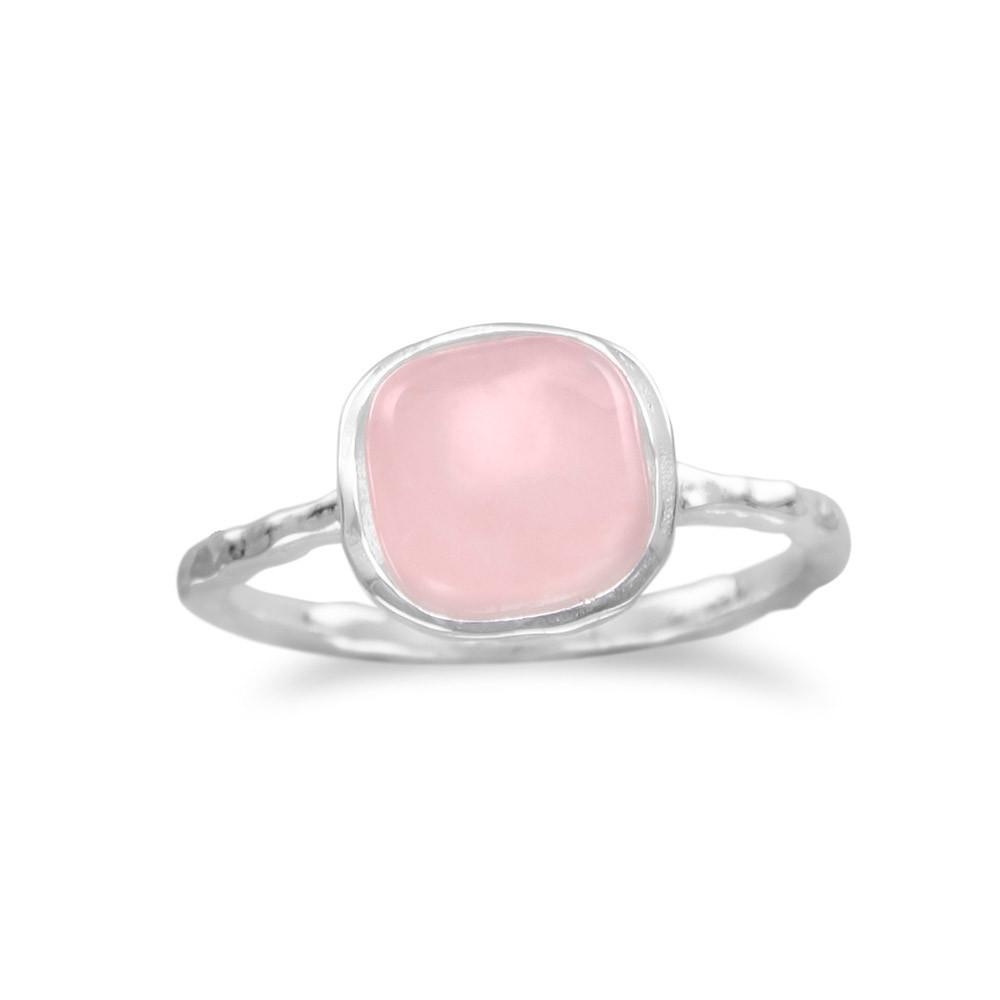 Rose Quartz Stackable Ring