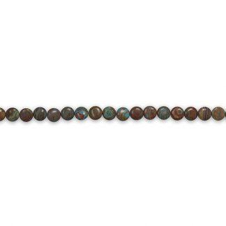 Strand of Aqua Terra Jasper Beads