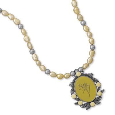 18″+3″ Cultured Freshwater Pearl Fashion Necklace