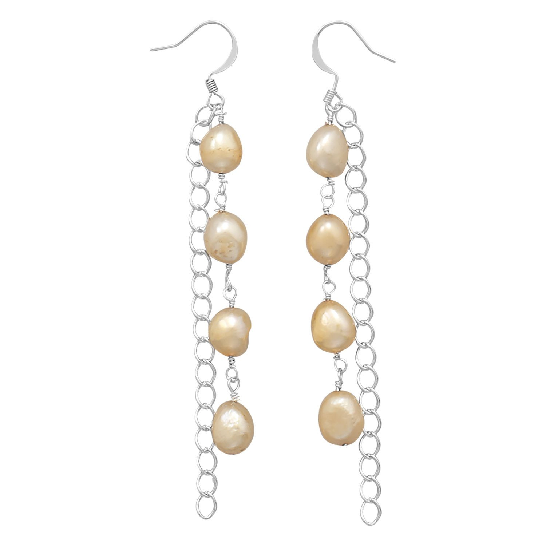 Cultured Freshwater Pearl Fashion Drop Earrings