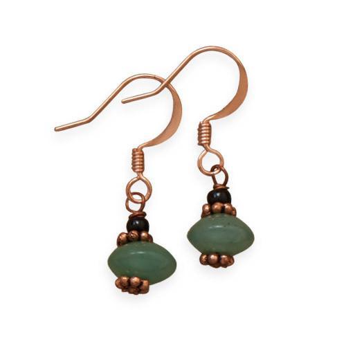 Adventure Awaits Copper Earrings