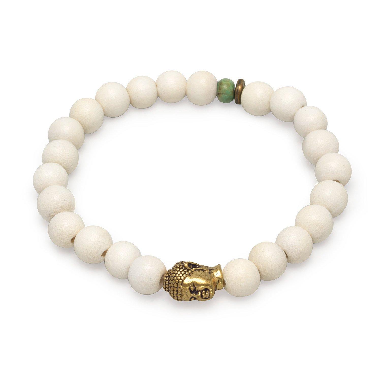 8″ Fashion Stretch Bracelet with Buddha Bead