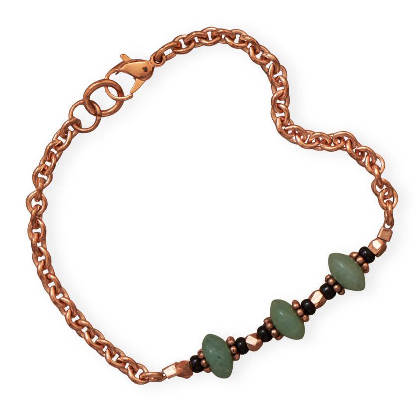Adventure Awaits Copper Bracelet