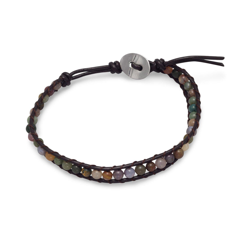 Jasper River Rock Fashion Bracelet