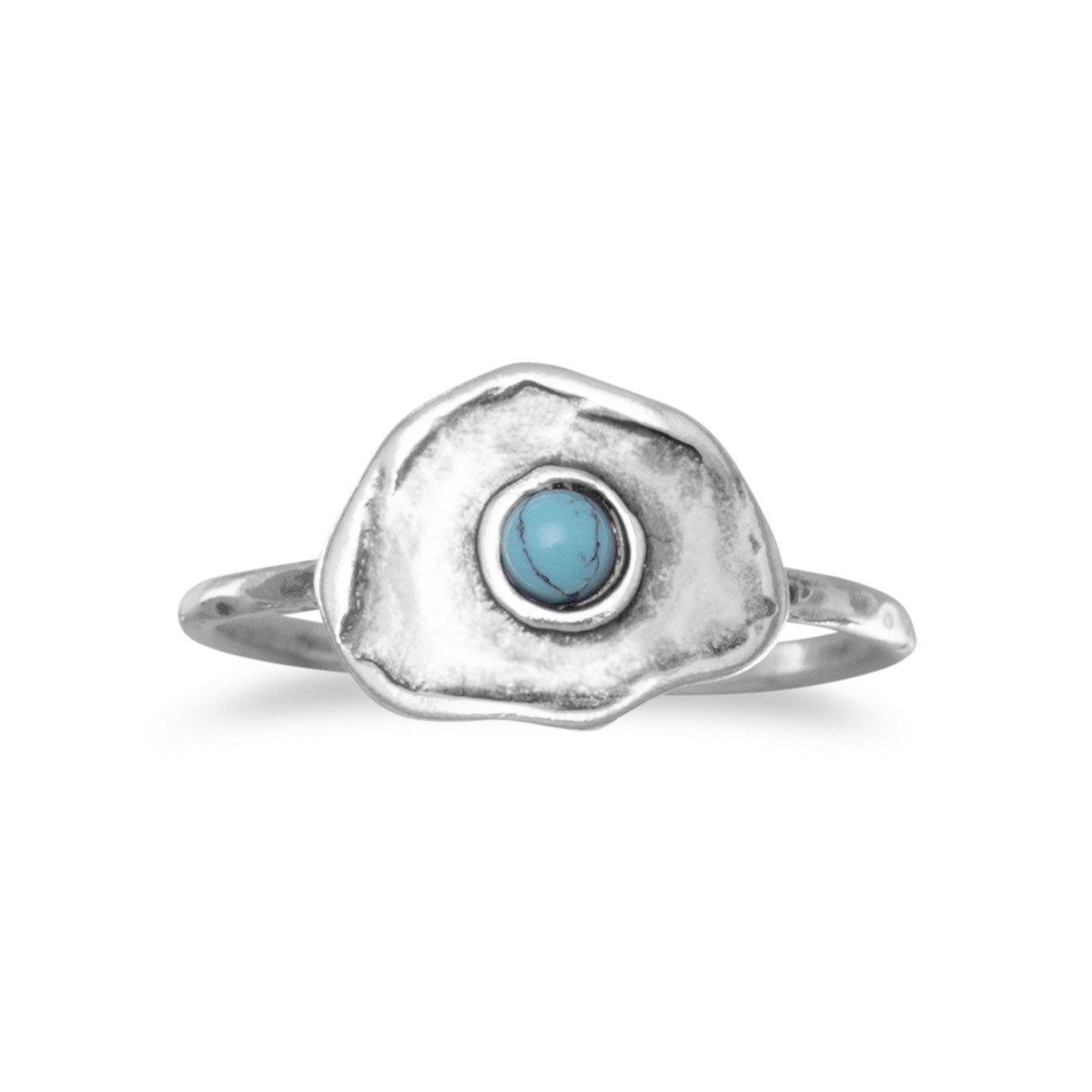 Blue Isle Brass Ring