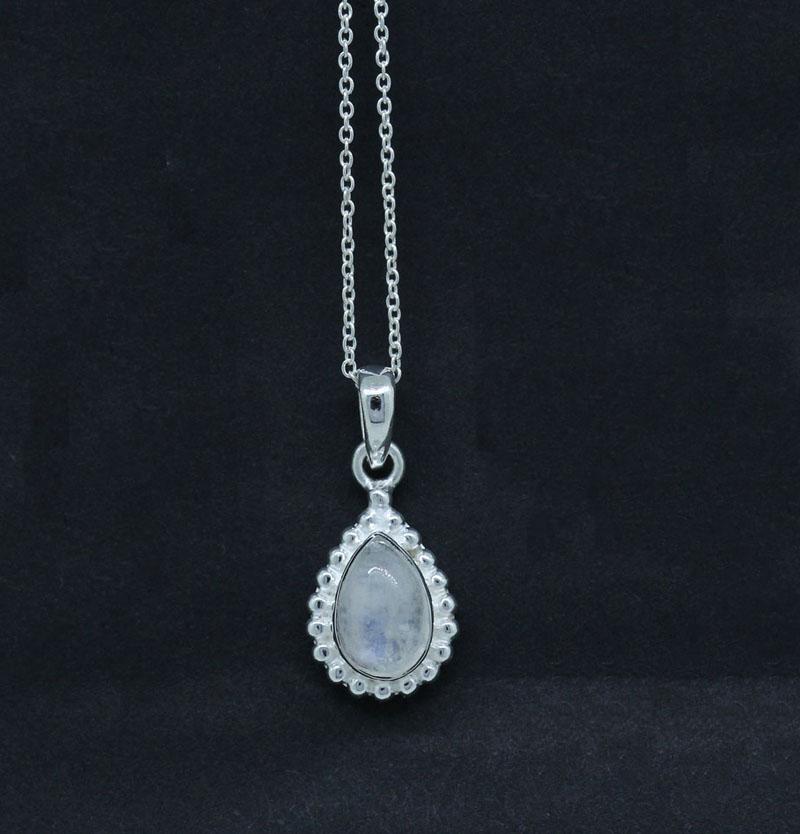 Purple Amethyst Pendant Sterling Silver Jewelry
